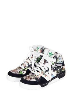 Rad high top trainers from Topshop x adidas
