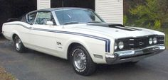 1969 Mercury Cyclone Spoiler Dan Gurney Edition with only 20k original miles. These cars were so fast from the factory that NASCAR had to change its rules. Only about 30 are known to exist.