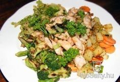 Könnyű, A-vitaminban gazdag wok-vacsora 2.