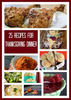 25+Thanksgiving+Recipes