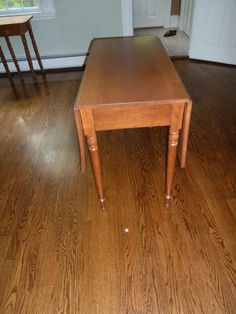 Antique Drop Leaf Cherry Table
