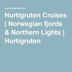 Roundtrip Air Package! Package your MS Midnatsol voyage with roundtrip flights & save over $800 pp! Hurtigruten Cruises | Norwegian fjords & Northern Lights | Hurtigruten