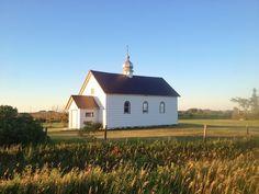 Saskatchewan Back Road Church - Saskatchewan // Sweet Spontaneity Back Road, The Province, Summertime, Canada, Cabin, Adventure, House Styles, Sweet, Cabins