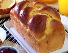 PÃO TIPO BRIOCHE é muito saboroso, fofinho e fácil de fazer. Ele combina muito com a sua manteiga ou margarina preferida e todos vão adorar. Experimente!