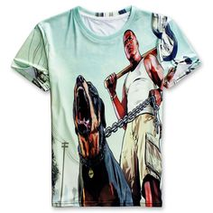 Grand Theft Auto/game Gta T-Shirt For Men