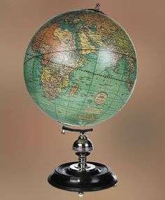 Best value on Authentic Models Weber Costello Globe on a Wood Stand World Globes, Beautiful, Globe