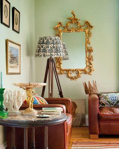 11 unexpected colors - I love almost all of these. Peach and mint are definites for our first house.