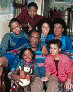 "Malcolm-Jamal Warner, Sabrina Le Beauf, Phylicia Rashad as Clair, Lisa Bonet, Bill Cosby, Keshia Knight Pulliam and Tempestt Bledsoe starred in ""The Cosby Show."""