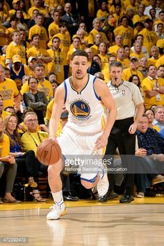 7d1ae45f66c Klay Thompson of the Golden State Warriors drives against the Memphis  Grizzlies in Game Two of the Western Conference Semifinals of the 2015 NBA  Playoffs on ...