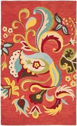 Area rug BLM680B is part of the Safavieh Blossom Rugs collection. Shapes available.