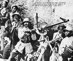Ethiopian Emperor Haile Sellasie manning an antiaircraft gun during the Battle of Maychew, Ethiopia's last stand against Italy. He would flee to Britain shortly after and return to Ethiopia 5 years later as part of an Allied backed Liberation. Haile Selassie Quotes, Defender Of The Faith, World Conflicts, Military Coup, Black Royalty, Lion Of Judah, Abyssinian, King Of Kings, African History