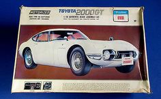 OTAKI-Toyota-2000-GT-1-16-Scale-Model-Kit-1601-SEALED-PARTS-Huge-1-16-Scale