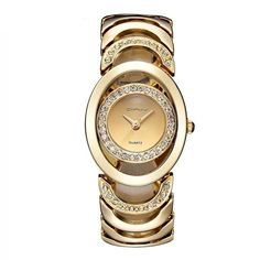 Item Type: Quartz Wristwatches Feature: Water-Resistant Band Width: 23mm Dial Diameter: 32mm Band Length: 21cm Clasp Type: Bracelet Clasp Band Material Type: Stainless Steel Case Thickness: 9mm Bling Bling, Ladies Dress Watches, Gold Watches Women, Swiss Army Watches, Cool Watches, Wrist Watches, Stylish Watches, Elegant Watches, Women's Watches