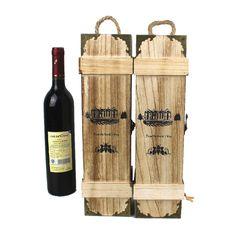 Resultado de imagem para caixa de vinho de madeira