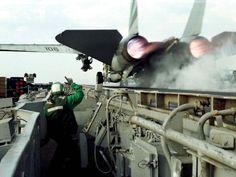 F-14 Tomcat take off