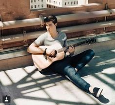 Shawn Mendes and his guitar is my life, hot, photoshoot