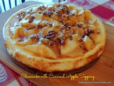 Amazing Apple Caramel Cheesecake! YUM!!  - Daily Dish Magazine