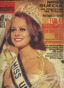 Margareta Arvidsson Miss Universe 1966 from Sweden
