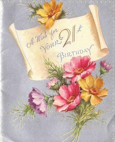 21st birthday greetings | 27 Best 21st birthday wishes, 21st birthday quotes, birthday wishes ...