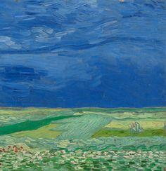 Wheatfield under Thunderclouds - Van Gogh Museum FYI, Another Artist: http://universalthroughput.imobileappsys.com/ The Gallery Of An Acrylic Creationist here: http://universalthroughput.imobileappsys.com/site2/gallery.php