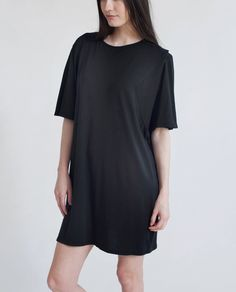 37f0a8d9040 DAISY Organic Cotton Oversized Tshirt In Black Commerce Équitable