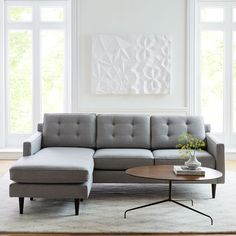 Shop drake from west elm. Find a wide selection of furniture and decor options that will suit your tastes, including a variety of drake. 3 Piece Sectional, Modern Sectional, Leather Sectional, Sleeper Sectional, Oversized Furniture, Small Furniture, Modern Furniture, Furniture Ideas, Chaise Cushions