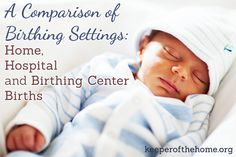 Overwhelmed by the options on where you can choose to give birth? Home? Hospital? Birthing centers? This post looks at all the options to help you make a decision that you're comfortable with come time to have baby!