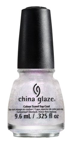 China Glaze 'Happy HoliGlaze' - Holiday Travels Colour Travel Top Coat  #ChinaGlaze #ChinaGlazeNailLacquer #HappyHoliGlaze #Holiday2013