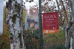 """Cartel de la Exposición """"Goya en Madrid"""" Museo del Prado Madrid. #Cartel #Affiche #Arterecord 2014 https://twitter.com/arterecord"""