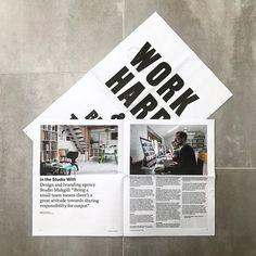 Saturday reading material. .  .  .  #design #graphic #graphicdesign #graphics #designer #type #typography #typographic #goodtype #typografi #create #creative #art #minimal #minimalist #minimalistic #london #new #work  #thedesigntip #itsnicethat  #goodtype #brand #thebrandidentity #typespire #font #instagood #photooftheday
