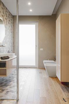 Holz Modern Badezimmer Holzfliesen Fliesen Sechseckig Creme Farbe  #bodenbeläge #fliesen #modern #apartment   Fliesen   Pinterest   Creme  Farbe, Fliesen Und ...