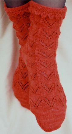 Ravelry: Orange Lace pattern by Katherine Foster
