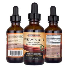 MAX ABSORPTION Vitamin Sublingual Liquid Drops Methylcobalamin Per Serving 60 Servings NonGMO Vegan Friendly ** Check this awesome product by going to the link at the image. Liquid Vitamins, Health Vitamins, Vitamin B12 Sublingual, Vitamin B12 Tablets, Natural Flavors, Vegan Friendly, Natural Health, The Cure, Nutrition