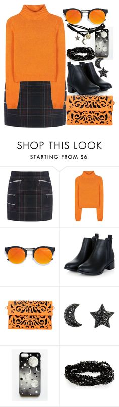 """""""Stars and Moon"""" by elusiin ❤ liked on Polyvore featuring Barbara Bui, Acne Studios, LULUS, Rianna Phillips and Wet Seal"""