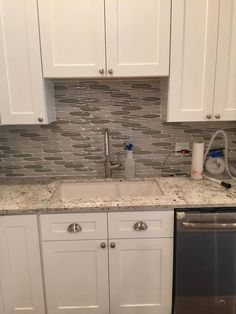 Grooved Stone And Natural Stone With A Wood Feel   Linker White Wood Mosaic  Stone Tile   Stone Backsplash Ideas   Stone Fireplace Makeover   Pinterest