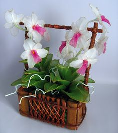 Clebiartes: Flores de meia de seda