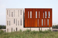 Administration Building of the North Shanghai Gas Company in Jiading by Atelier Deshaus