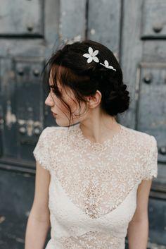 HAIR ACCESSOIRES  LUNA BEA BRIDE Jour J, Mariage De Tulle, Robes De Mariée 88fbbcd842fb