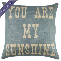 You Are My Sunshine Pillow at Joss & Main