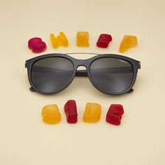 Vogue Eyewear's new Sweet Side collection of sunglasses is a pure sugar rush.