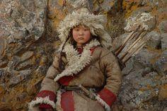 Movie still from Mongol Movie by Sergei Bodrov 2007.