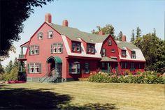 Franklin D. Roosevelt Summer Home, Campobello Island, New Brunswick, Canada.  Photo by Steve Golse.