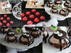 CASTLEMAKER Lifestyle-Blog - Halloweenparty für Kinder - Einladungen, Snacks & Co « CASTLEMAKER Lifestyle-Blog Halloween Fingerfood, Cupcakes, Snacks, Blog, Desserts, Zara, Bricolage Halloween, Invitations Kids, Celebration