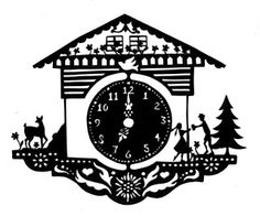 Who loves to cut out paper? Here are my recent adventures with the art of scherenschnitte. Home Crafts, Crafts To Make, Paper Art, Paper Crafts, German Folk, Paper Cut Design, Silhouette Curio, Wooden Clock, Antique Paint