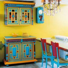 meuble a peindre    Peindre un meuble à moulures et caissons