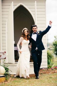 If I ever marry, I want this kind of enthusiasm from my groom ;)