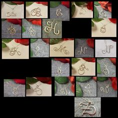 Personalized Script Style Sterling Silver by JewelryCustomDesigns