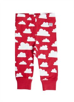Farg & Form Moln Trousers Red | Funky Kitsch