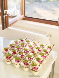 Tavukgöğsü (magnolia Görünümlü) Mini Cupcakes, Pasta, Desserts, Recipes, Food, Tailgate Desserts, Deserts, Eten, Postres