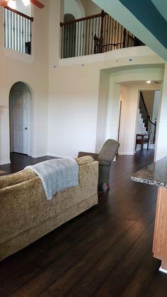 Wood floor installation in Katy Texas
